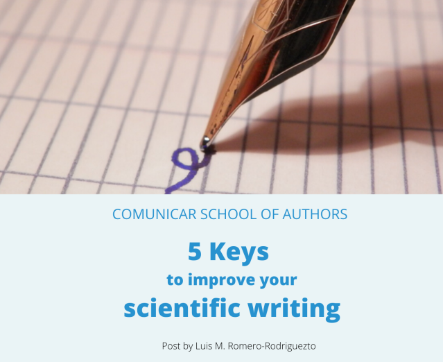 Post COMUNICAR SCHOOL OF AUTHORS 5 KEYS